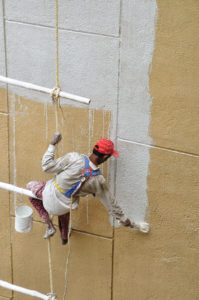 Worker Commercial Painting